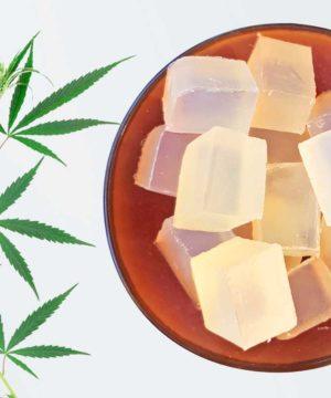 Molding soap - 100% Natural - Hemp seed oil