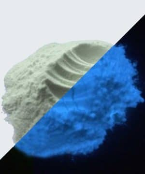 Pigment Powder - Glow in the dark - Blue - 25 gr