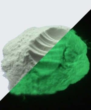 Pigment Poeder - Glow in the dark - Geel Groen - 50 gr
