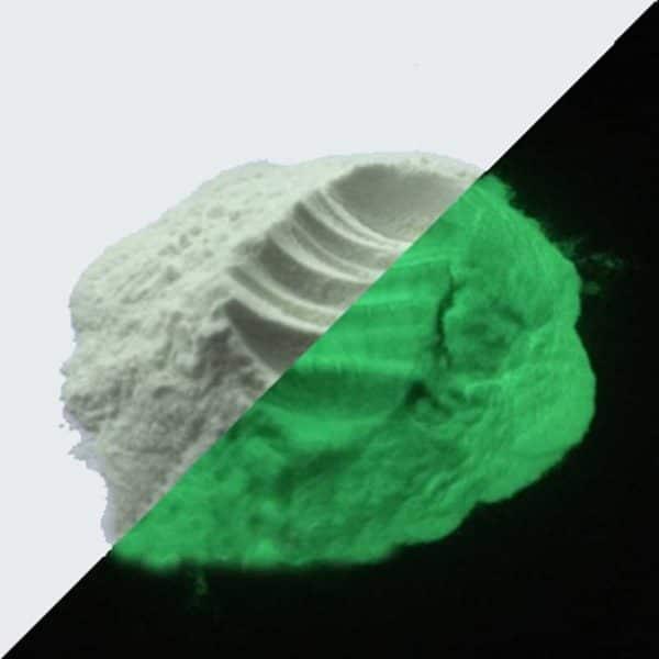 Pigment Poeder - Glow in the dark - Geel Groen - 50 gr