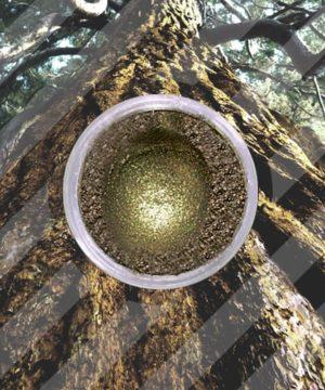 Mica Powder - Antique Gold / Brown - 250 gr