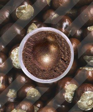 Mica in polvere - Castagna - 250 gr