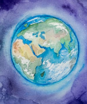 Geurolie - Earth Meets Sky - 100 ml