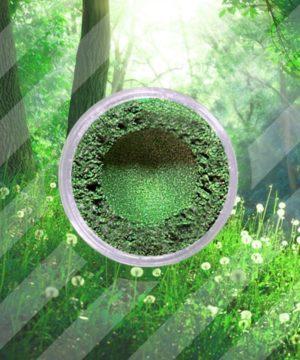 Mica Poeder - Bos Groen - 250 gr