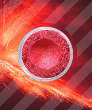 Glimmerpulver - Feuriges Rot - 250 gr