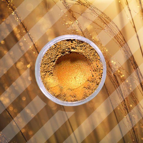 Mica in polvere - Sunny Gold - 250 gr