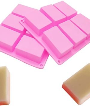 Rectangle Block Soap Mold Silicone