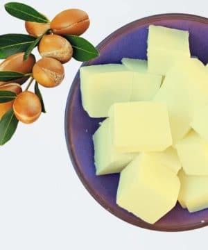 Gießen Sie Seife Arganöl
