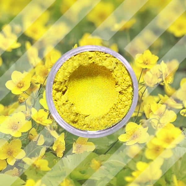 Mica Powder - Buttercup Yellow - 250 gr