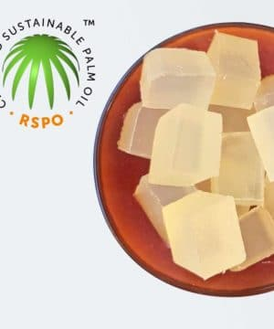 Molding soap Sustainable Palm oil