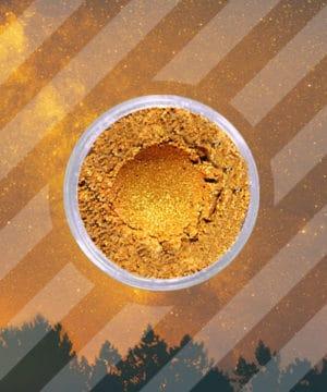 Polvere di Mica - Oro Caldo - 250 gr