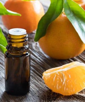 Biologische Tangerine etherische olie