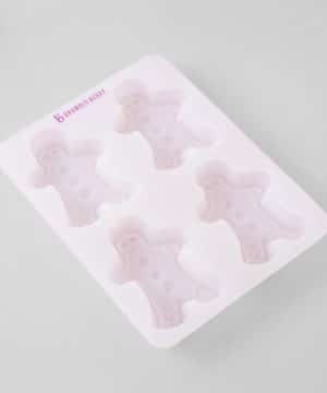 Gingerbread silicone mold
