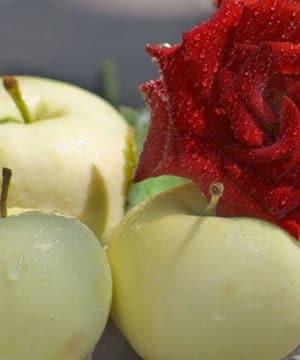 Aceite con fragancia - Manzana crujiente y rosa