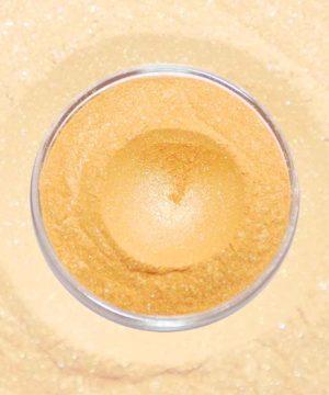 Glimmerpulver - Goldener Kürbis
