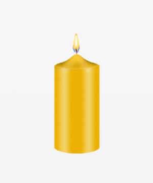 Goud geel kaars kleurstof